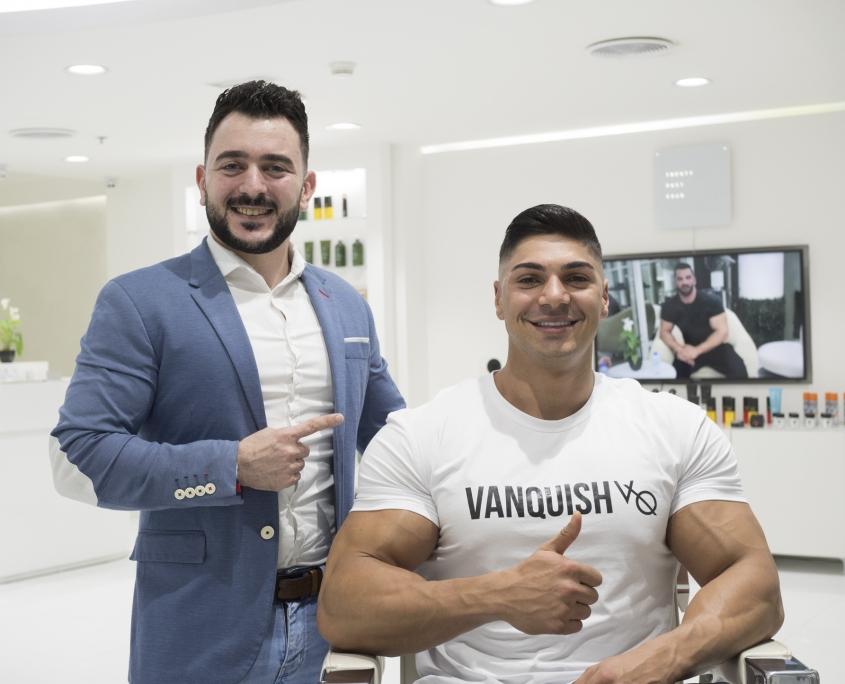 Andrei Deui in SKILLS Dubai Barbershop