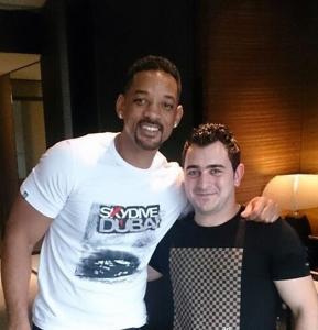 Will Smith served by SKILLS Dubai Barbershop
