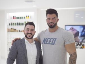 Sergi Constance in SKILLS Dubai Barbershop