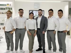 SKILLS Dubai Barbershop Team