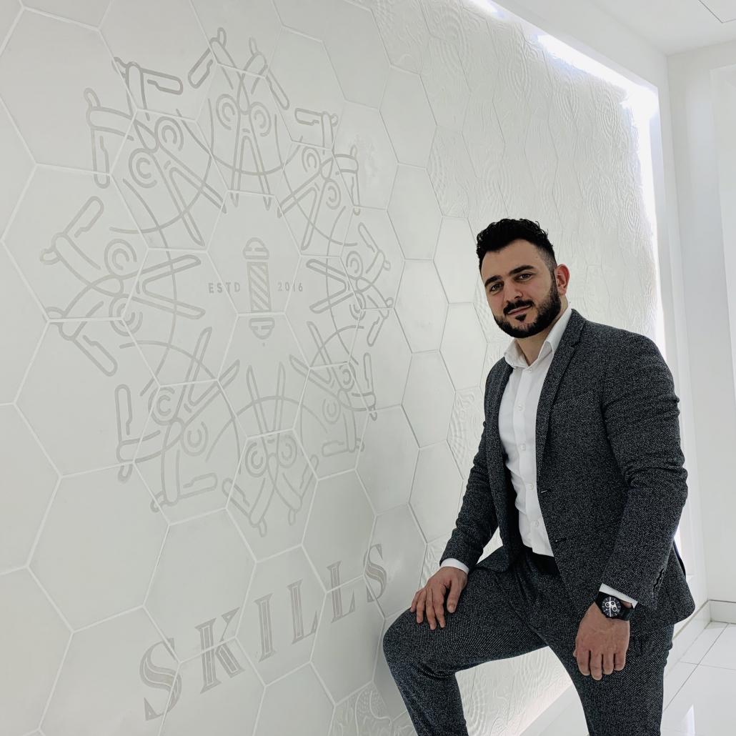 """Mohamad Mir """"Barber Mo"""" Ebrahim"""