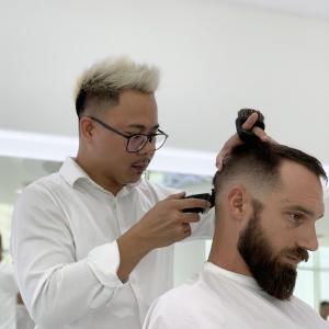 SKILLS Dubai Barbershop Barber Jayson
