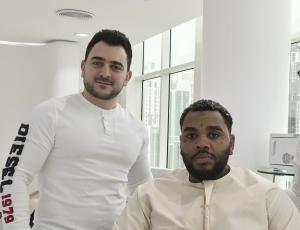 Kevin Gates in SKILLS Dubai Barbershop