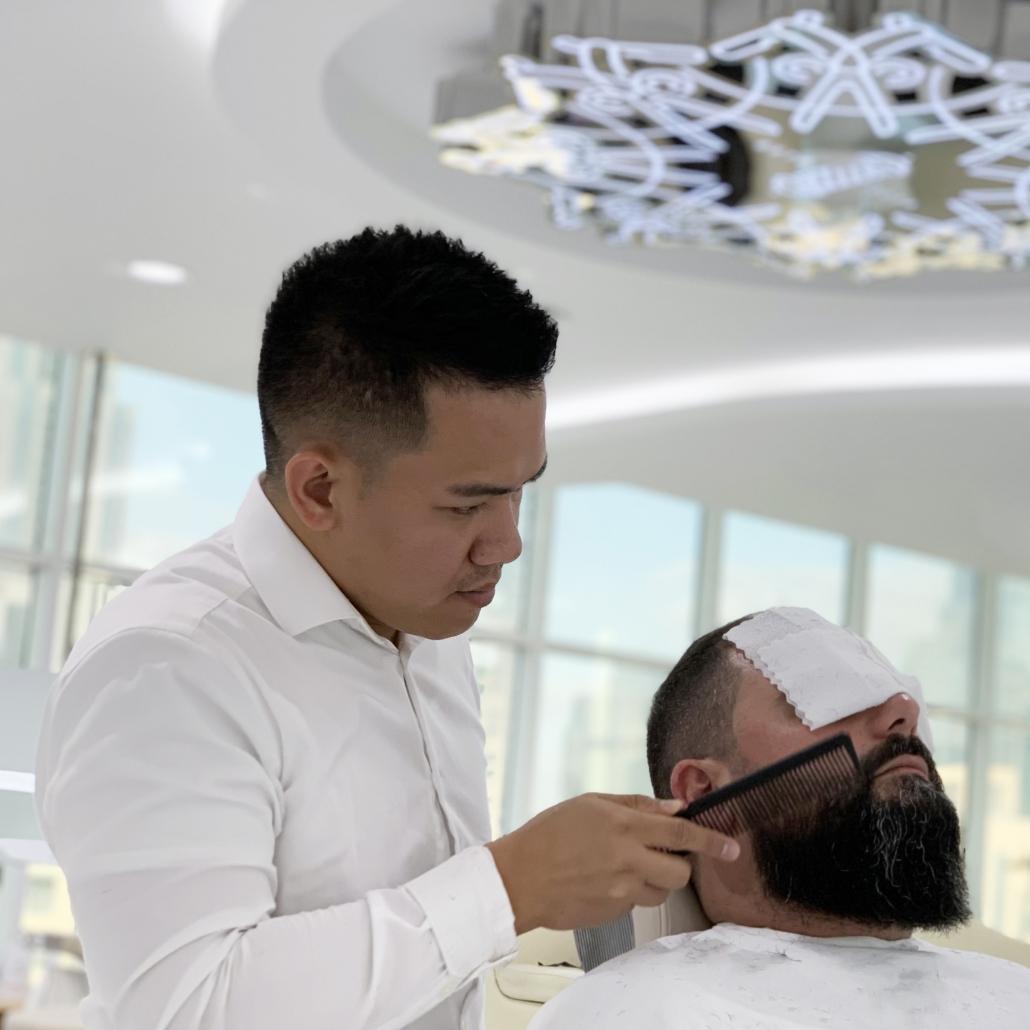 "Michael ""Barber Mike"" Romanillos"