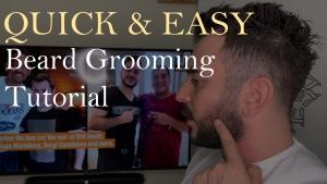 Self-Beard Grooming Tutorial by Barber Mo
