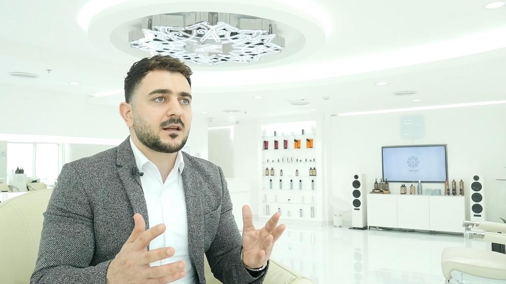 Barber Mo of Skills Dubai Barbershop