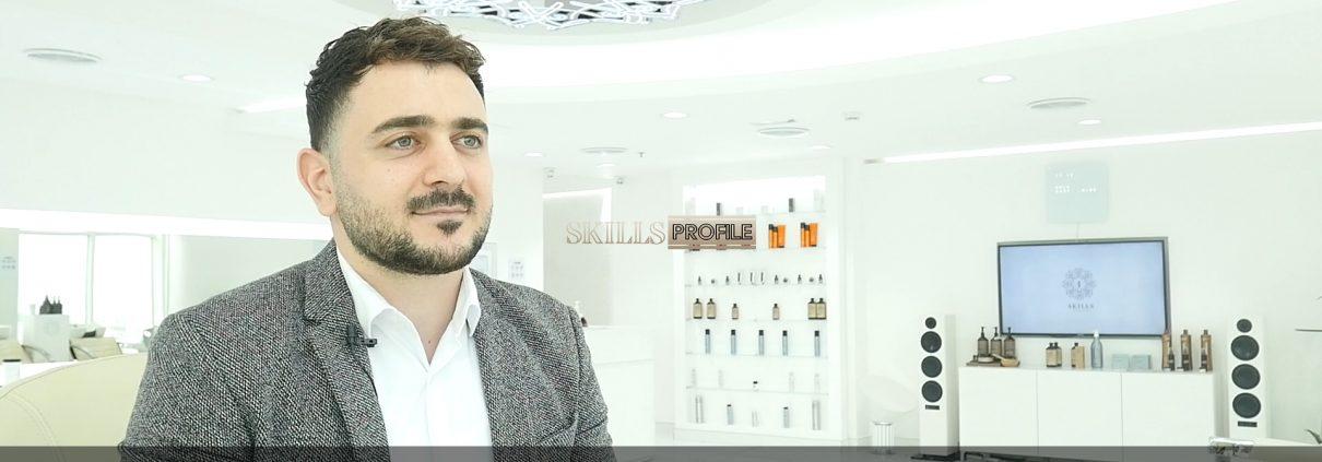 CEO Founder of SKILLS Dubai Barbershop Barber Mo