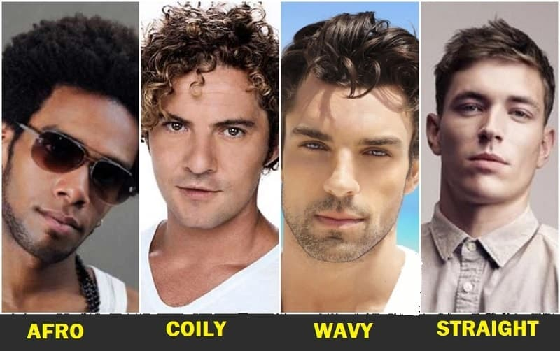 Different Hair Structure and Types