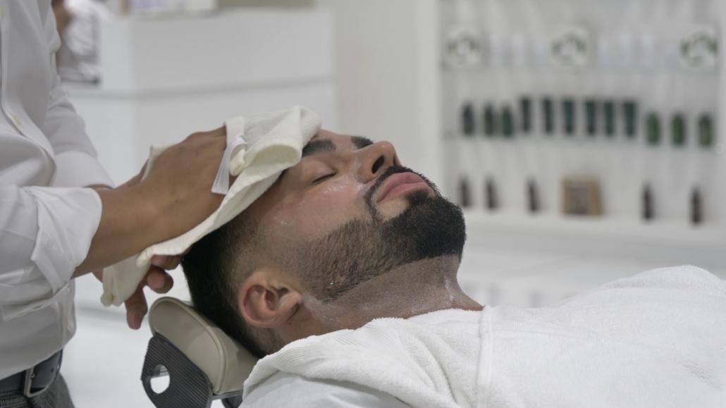 express Facial Wash after shaving
