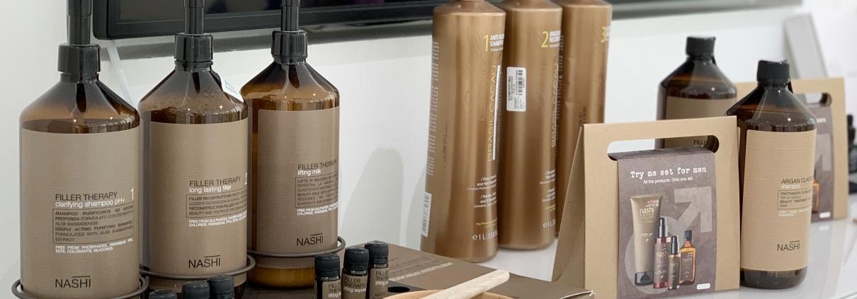 Nashi Argan Natural Shampoo, Conditioner and Mask