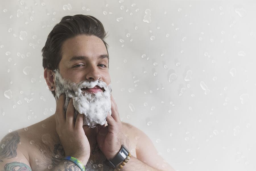 Beard Washing SKILLS Dubai Barbershop
