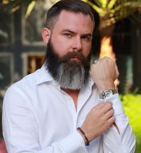 Mike Hardie Beard Style SKILLS Dubai Barbershop
